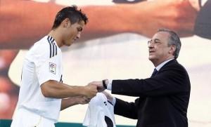 Cristiano-Ronaldo-Florentino-Perez