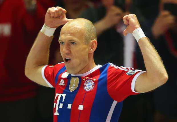 Arjen Robben Tolak Tawaran dari Manchester United