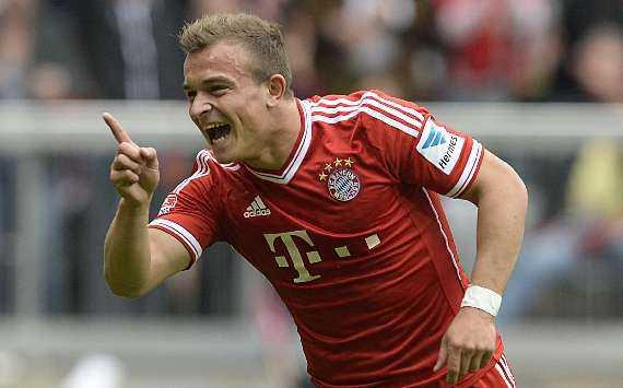 Gelandang Bayern Munich Xherdan Shaqiri hengkang dari Bayern