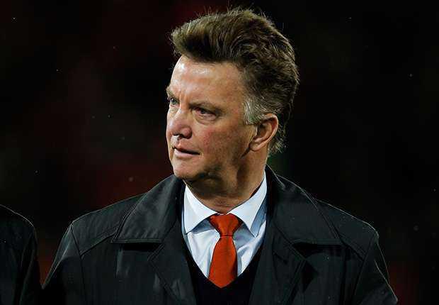 Louis van Gaal Tangani Manchester United Hari Ini