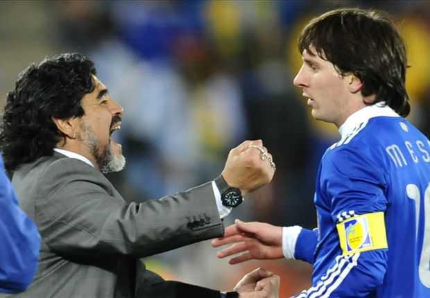 Maradona sebut Argentina dan Brasil favorit juara Piala Dunia 2014