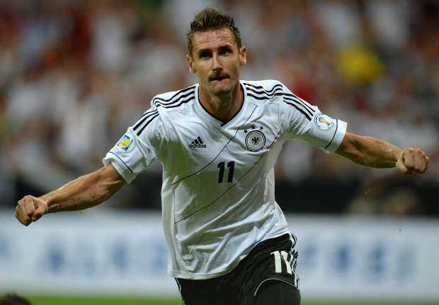Miroslav Klose Bidik Rekor Gol di Piala Dunia 2014