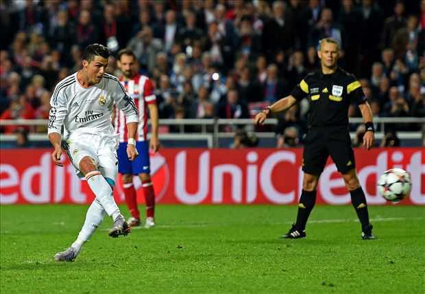 Penalti Ronaldo menjadi gol ke-68 dan Topskor Liga Champions