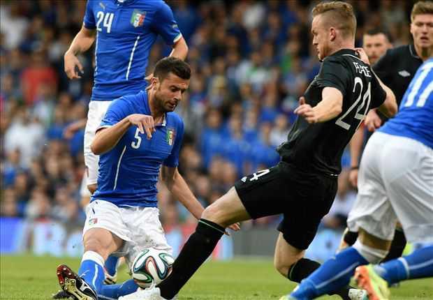 Italia Tertahan Melawan Rep. Irlandia