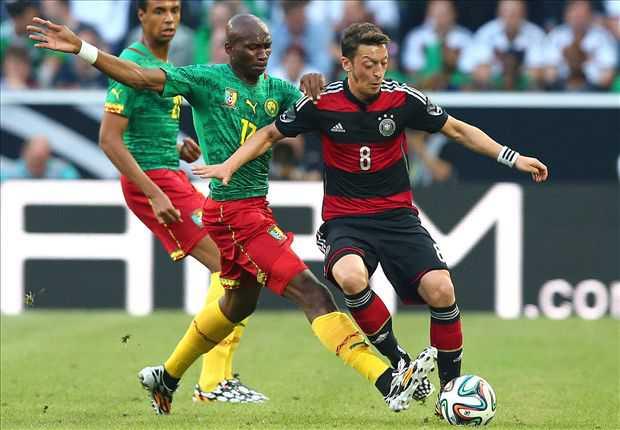 Kamerun Tahan Imbang Jerman 2-2