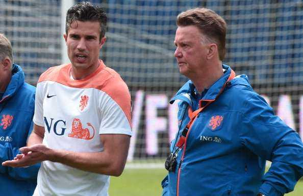 Robin Van Persie Akan Fit Di Piala Dunia