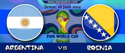 argentina vs bosnia & herzegovina