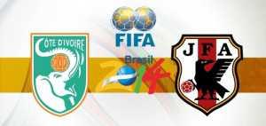 Prediksi Skor Bola Pantai Gading vs Jepang 15 Juni 2014