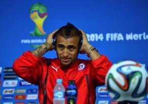 """Spanyol """"Lewat"""", Brasil Pun Bisa Dikalahkan ucap Vidal"""