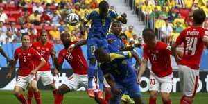 Tekuk Ekuador Swiss Menang Secara Dramatis