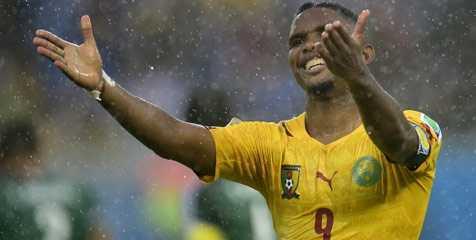 bursa judi bola - Kamerun Cabut Ban Kapten Samuel Eto'o