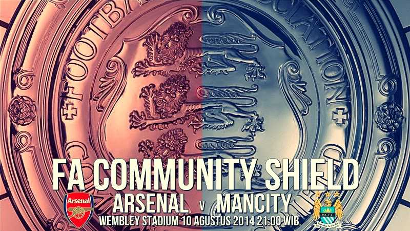 manchester city vs arsenal FA community shield