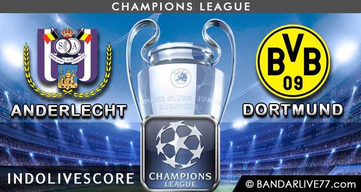 Anderlecht vs Borussia Dortmund