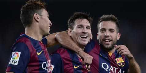 Kontribusi Messi Masih Terbaik di Liga