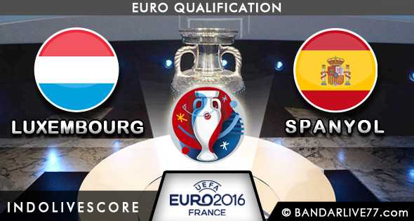 LUXEMBOURG vs SPANYOL