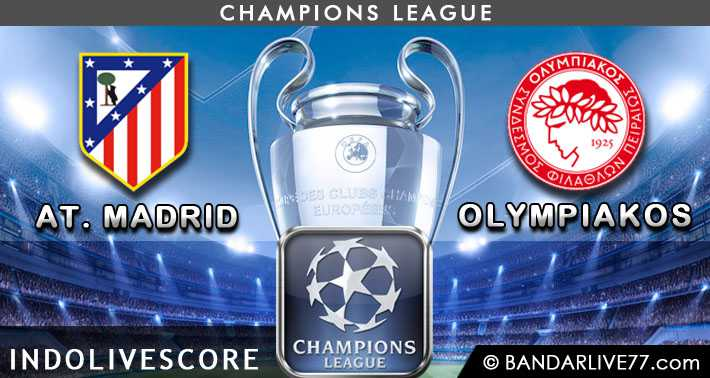 Atletico Madrid vs Olympiakos Piraeus 27 November 2014 Liga Champions