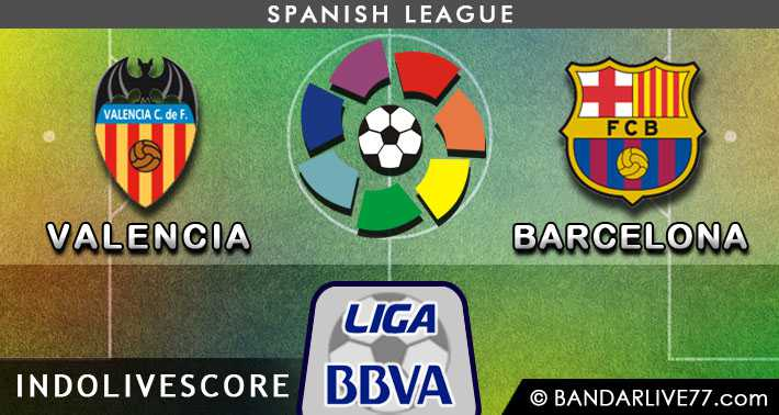 Preview Prediksi Valencia vs Barcelona 01 December 2014 La Liga Spanyol