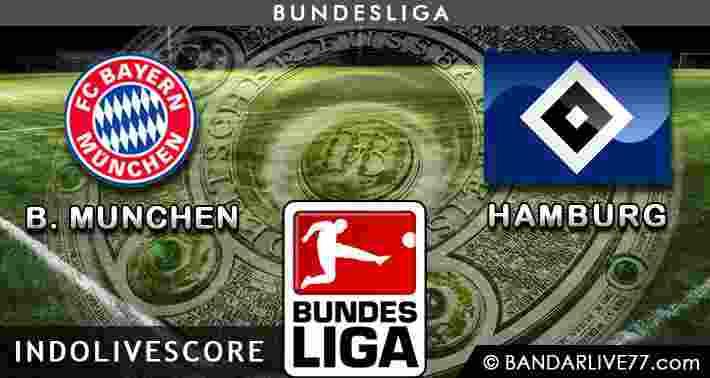 Bayern Munchen vs Hamburg