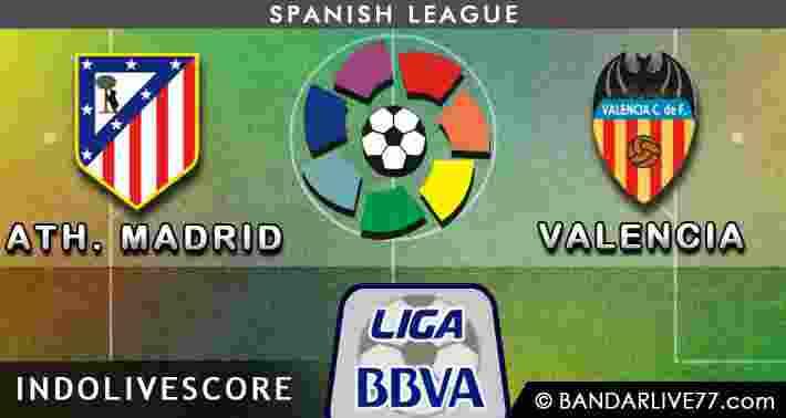 Atheletico Madrid vs Valencia