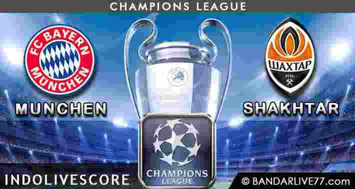 Bayern Munchen vs Shaktar Donetsk