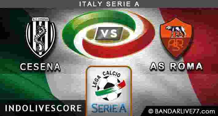Prediksi akurat Cesena vs Roma 23 Maret 2015