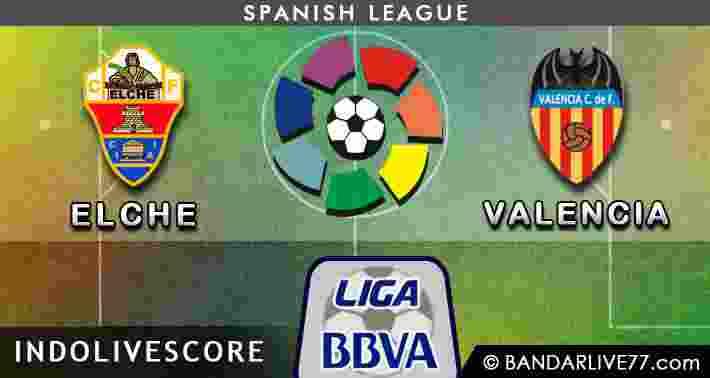 Prediksi Jitu Elche vs Valencia Liga Spayol