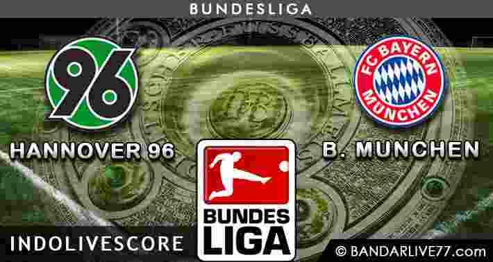 Hannover 96 vs Bayern Munchen