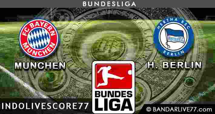 Bayern Munchen vs Herta Berlin
