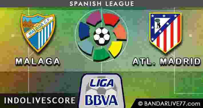 Malaga vs Atheletico Madrid