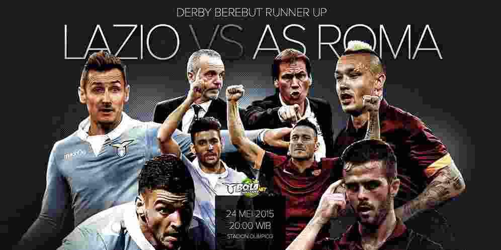 Prediksi Judi Bola Hari ini - Lazio vs AS Roma 25 Mei 2015