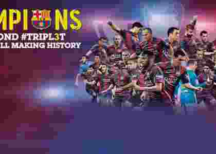 Barcelona Klub Bola Pertama Raih Treble Winner Dua Kali