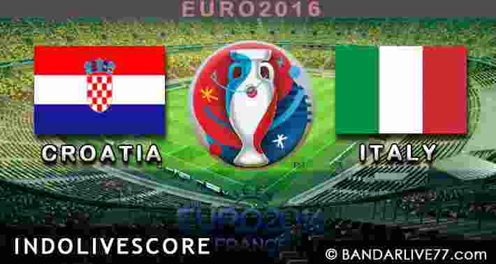 Croatia vs Italy
