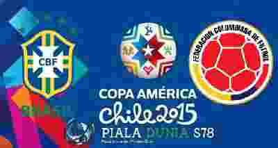 Prediksi Skor Bola Brasil vs Kolombia 18 Juni 2015