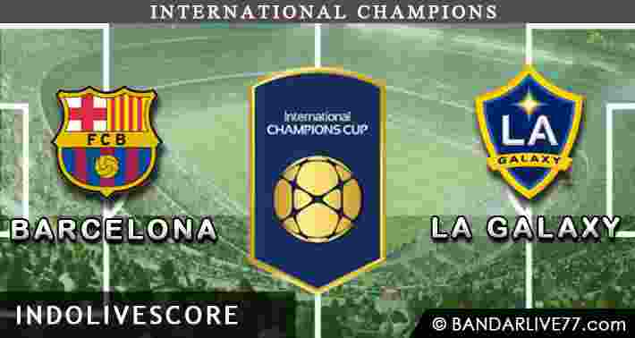 Barcelona vs LA Galaxy