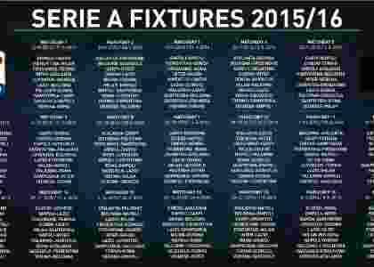 Inilah Jadwal Lengkap Serie A Italia 2015-2016