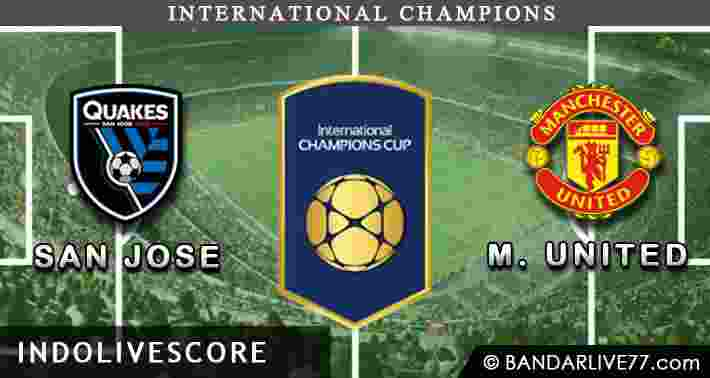 San Jose Earthquakes vs Manchester United