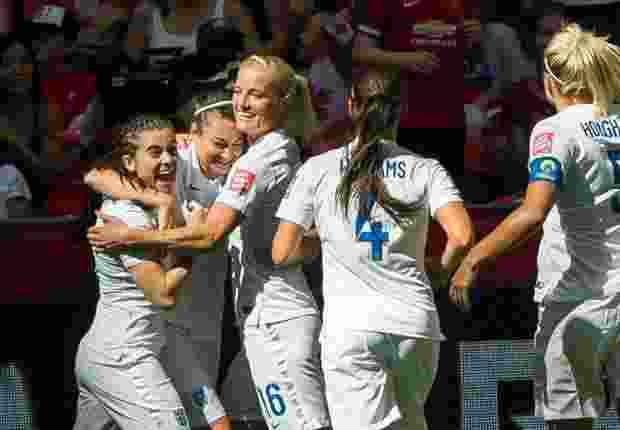 Tim kuda hitam, Inggris, berhasil keluar sebagai juara ketiga Piala Dunia Wanita 2015