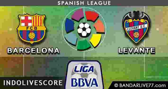 Barcelona vs Levante
