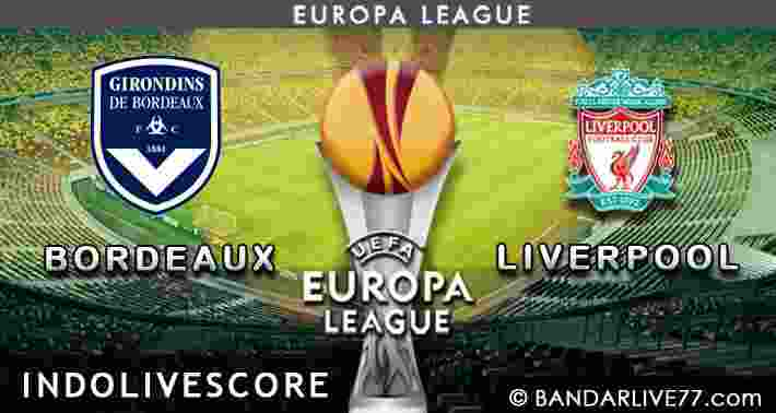 Bordeaux vs liverpool
