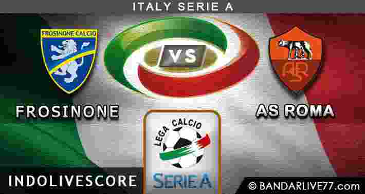 Frosinone vs AS Roma