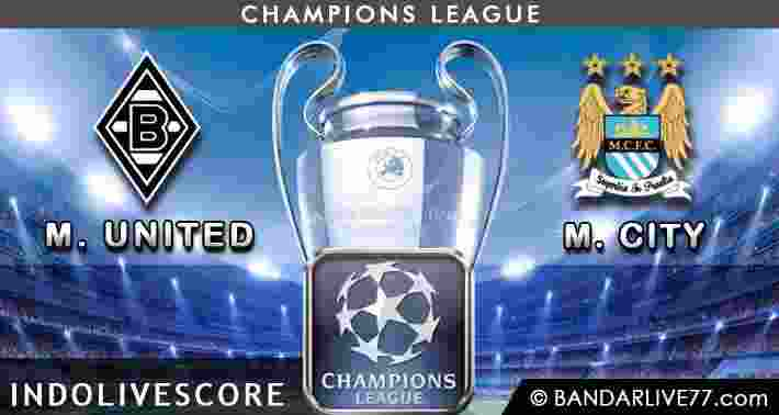 borussia M'Gladback vs Manchester City