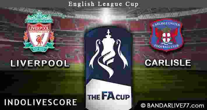 Liverpool vs Carlisle