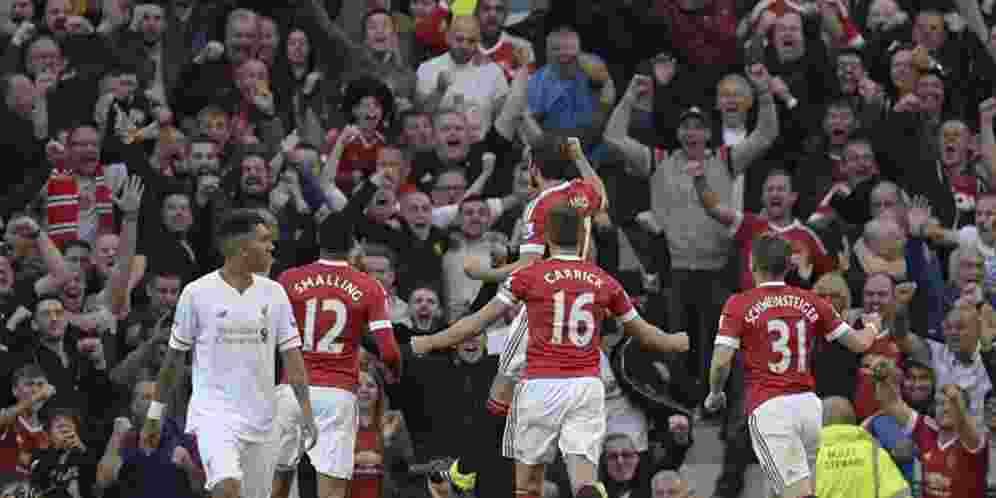 Manchester United vs Liverpool, Skor 3-1