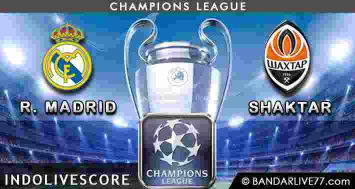 Real Madrid vs Shaktar Donetsk