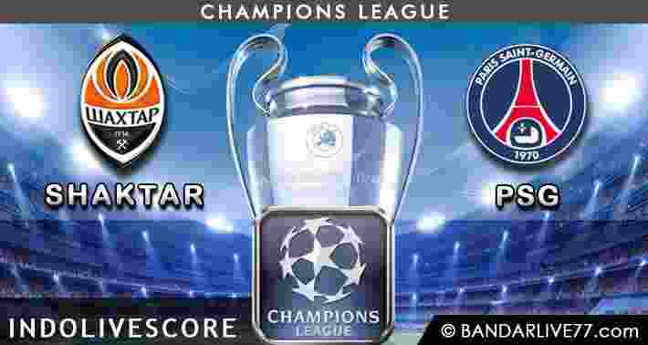 Shaktar Donetsk vs Paris Saint Germany