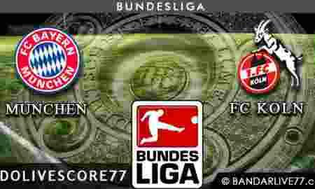 Bayern Munchen vs FC Koln