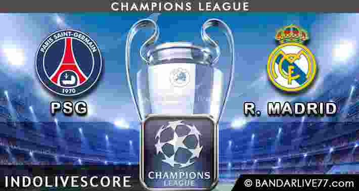 Paris Saint German vs Real Madrid