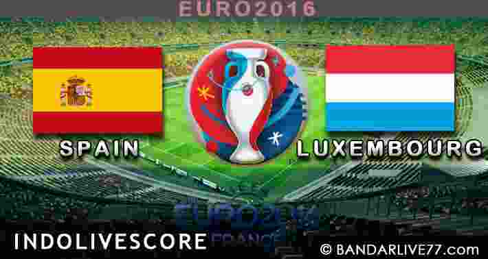 Spain vs Luxembourg