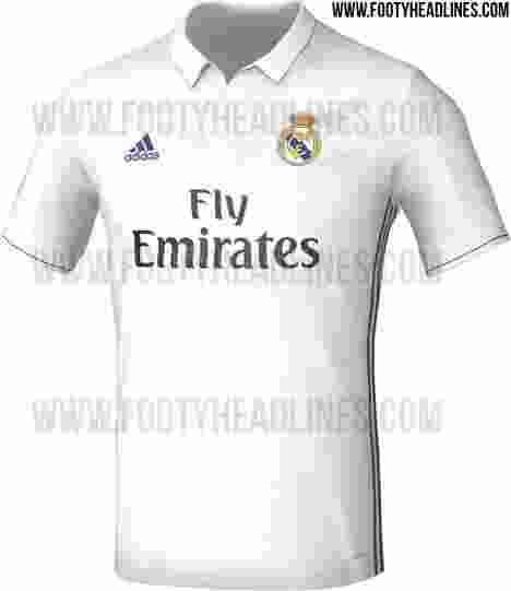 Inikah Penampakan Jersey Kandang Real Madrid Musim Depan