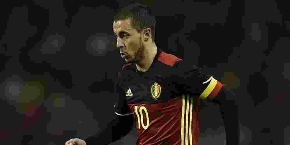 Eden Hazard Yakin Raih Gelar Juara Bersama Timnas Belgia di Euro 2016
